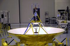 New Horizon's antennas (high gain & backup)