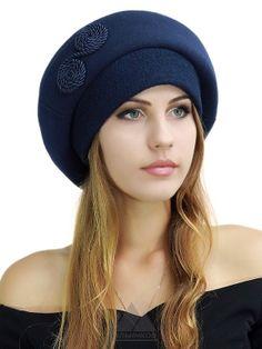Берет Дарьяна - Женские шапки - Из кашемира