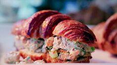 Fried Chicken Salad Sandwiches