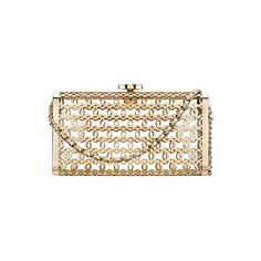 OOOK - Chanel - Cruise Accessories 2015 - LOOK 5 | Lookovore ❤ liked on Polyvore featuring bags, handbags, clutches, chanel, chanel bag, chanel pochette, chanel purse, chanel clutches and chanel handbags