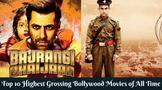Top 10 Highest Grossing Bollywood Movies of All Time