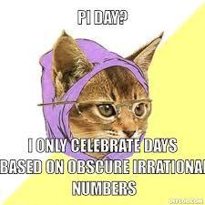 cat nerd Pi