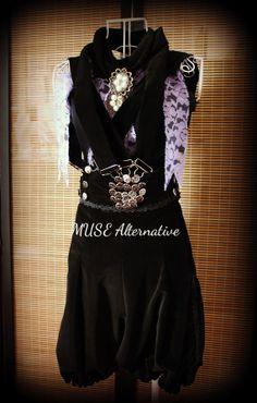 Bird+Cage+Gothic+Visual+Kei+Pantaloons+Black+by+MuseAlternative,+$165.00