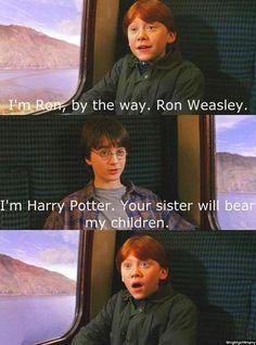 hahahahaha Ron has the best facial expressions!