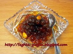 Σταφύλι σουλτανίνα γλυκό του κουταλιού Greek Sweets, Greek Desserts, Greek Recipes, Cookbook Recipes, Cooking Recipes, Healthy Recipes, Cyprus Food, Greek Cookies, New Year's Cake