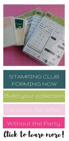 Stamping Club formin