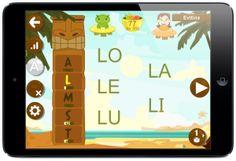 Leo con Grin, genial para aprender a leer jugando!!!