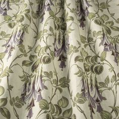 Liberty - Berry fabric, from the Art Deco collection by iLiv Art Deco Curtains, Art Deco Fabric, Fabric Blinds, Drapery Fabric, Curtain Drops, Dado Rail, Types Of Curtains, Pencil Pleat