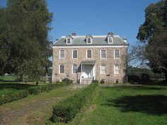 Van Cortlandt House, Van Cortlandt Park, Bronx; this house was built in 1748, and during the British occupation of New York, Augustus Van Cortlandt his the city records on the property. The estate became a park in 1897 and the house is operated by the Colonial Dames.