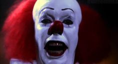 """Pennywise the clown from Stephen King's """"It.""""  Scariest clown EVER"""