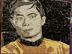 Sulu 11x8 Collage on canvas