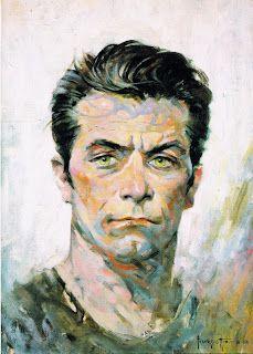 Frank Frazetta - self portrait