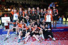 Jastrzebski Wegiel won bronze medal Champions League (fot. CEV)