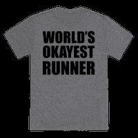 World's Okayest Runner Tee