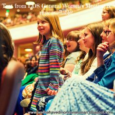 Text from #LDS General #WomensMeeting is now available online!