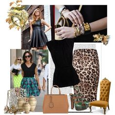 """""""My leopard moment"""" by sarapires on Polyvore"""