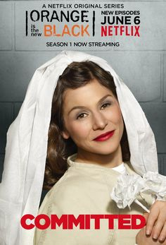 Lorna Morello ~ Orange is the New Black ~ Season 2 Posters (2014) #amusementphile