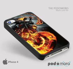 Ghost Rider Bike for iPhone 4/4S, iPhone 5/5S, iPhone 5c, iPhone 6, iPhone 6 Plus, iPod 4, iPod 5, Samsung Galaxy S3, Galaxy S4, Galaxy S5, Galaxy S6, Samsung Galaxy Note 3, Galaxy Note 4, Phone Case