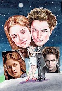 Twilight (The Movie) CARICATURE