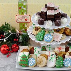 Holiday Giant Bakery Box Cookies And Brownie