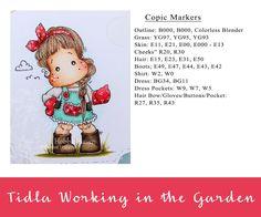 Heather's Hobbie Haven - Tilda Working in the Garden Card Kit