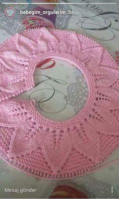 Granny Style Crochet For Kids Knit Crochet Baby Dress Crochet Earrings Baby Kids Knit Patterns Coast Coats Knitted Baby Knitting For Kids, Baby Knitting Patterns, Crochet For Kids, Baby Patterns, Free Knitting, Knit Crochet, Crochet Patterns, Knitted Baby, Knit Baby Dress