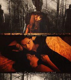 Elena and Damon -- Vampire Diaries