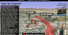 História e Geografia Bíblica: Série - Vales de Jerusalém (Cedrom)