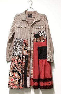 Bohemian Fall Coat Hippie Dress Coat Bohemian clothing | Etsy Spring Fashion Outfits, Chic Outfits, Autumn Fashion, Fashion Coat, Style Fashion, Estilo Folk, Frack, Shirt Refashion, Hippie Dresses