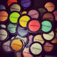 NEW from SEPHORA COLLECTION: Eighty Colorful eyeshadows