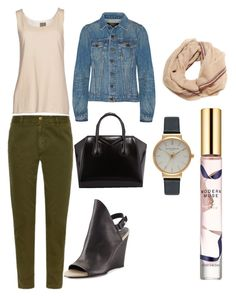 Untitled #119 by sheimab on Polyvore featuring polyvore, fashion, style, Proenza Schouler, TAVIANI, Current/Elliott, Vince, Givenchy, Olivia Burton, Ananda Design, Estée Lauder, women's clothing, women's fashion, women, female, woman, misses and juniors