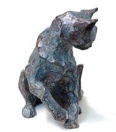 Bronze sculpture by Danièle Dekeyser