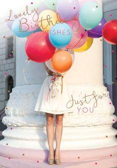 Vrouwelijke verjaardagskaart | Henderson Greetings - henderson greetings, greeting, card ... - #card #Greeting #Henderson #verjaardagskaart #Vrouwelijke