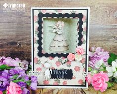 Our easy tutorial will show you how to make this pretty window aperture card using the gorgeous Santoro Mirabelle Decoupage Pad.