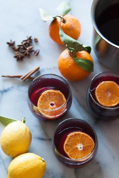 Holiday Spiced Hot Wine - easy drink for the holiday! My neighbor made this for me. Delicious!.