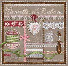 """Madame la fée -   """"Dentelles et Rubans"""" 1 x 1 points"""