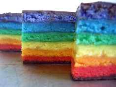 Yummy, Rainbow Cookies, Colourfull Biscuits. ❤