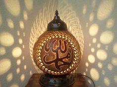 su kabağı abajur, gourd lamps