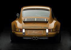 Caramel Porsche 911