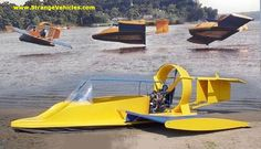 STRANGE HOVERCRAFT - COOL SPORT MODEL!