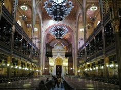 Dohany Synagogue (Great synagogue of Budapest)