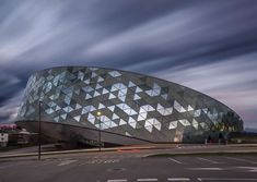 FIRM: Xabier Barrutieta architects; PROJECT: Orona IDeO; LOCATION: San Sebastián, Spain. New flagship extension and innovation city to the Technology Park of San Sebastian.