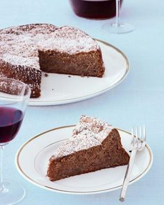 Flourless Apple-Pecan Torte Recipe
