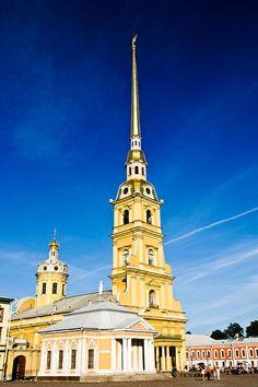 De kathedraal waar alle tsaren liggen begraven.
