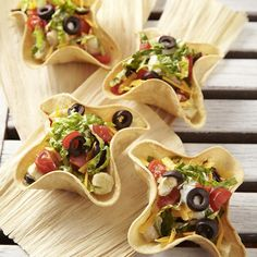 Chicken Taco Bowls for Two