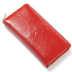 YSL wallet Red