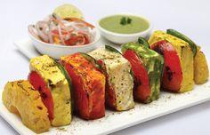 #Paneer Tikka #Vegetarian #Indian Food Recipe #Diwali Recipe #thecookbk #recipe #recipies #Snack #Food #yummy #paneer #cottage cheese # tikka #fingerfood