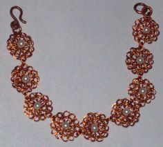 punto medio  en cobre esmaltado