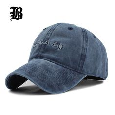 fe0f423dc High quality Washed Cotton Adjustable Solid color Baseball Cap Unisex  couple cap Fashion Leisure dad Hat Snapback cap