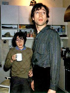 John Lennon and Julian Lennon
